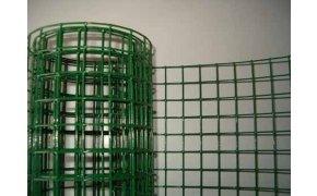 Pletivo na voliéry svařované Zn+PVC oko 13x13 mm, drát 1,2mm