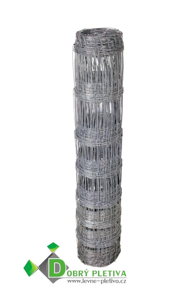 Ovčí pletivo výška 125 cm, 1.6/2.0 mm, 13 drátů