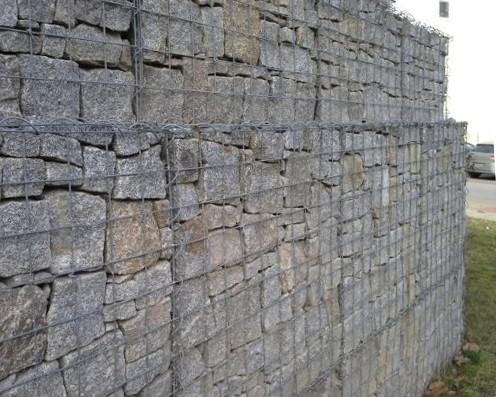 Gabionový koš 150x50x50 cm, oko 10x10 cm pro stavbu gabionové zdi