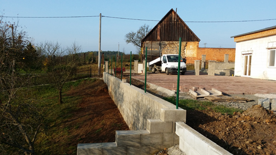 Výstavba plotu povolení